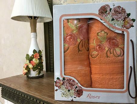 """Набор полотенц """"Роуз"""" №2, 2шт, фото 2"""