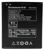 Аккумуляторная батарея (АКБ) Lenovo BL212, 2000 mAh для A620T, A830, A850, A859, K860, K860i, S8 S898T, S860E
