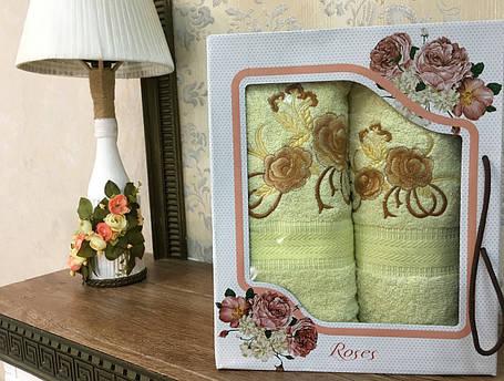 """Набор полотенц """"Роуз"""" №5, 2шт, фото 2"""