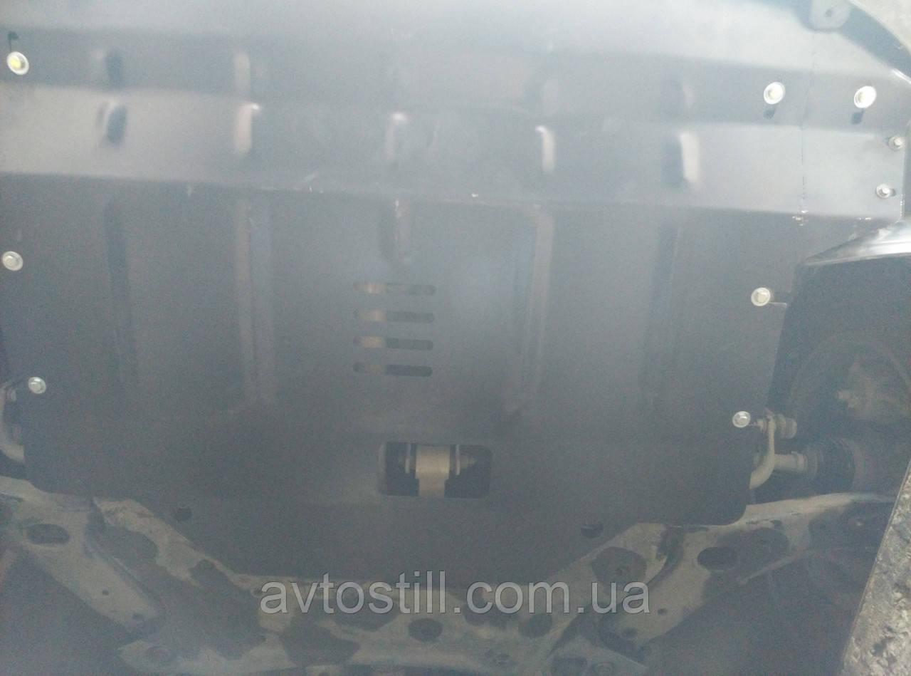 Захист картера радіатора двигуна коробки Kia Sportage 3 | Кіа Спортейдж