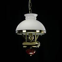 Люстра-подвес с плафоном 1075/1p AB/WT