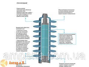 Ограничители перенапряжений AZB-D 35/40,5-1 35 кВ SICAME, фото 2