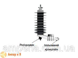 Ограничители перенапряжений AZB-D 35/40,5-2 35 кВ SICAME, фото 2