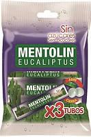 Леденцы Mentolin Eucaliptus без сахара, 3 х 20 гр