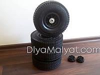 Надувные резиновые колеса d=260 мм 4шт. электромобиля универсальные для легкового электромобиля