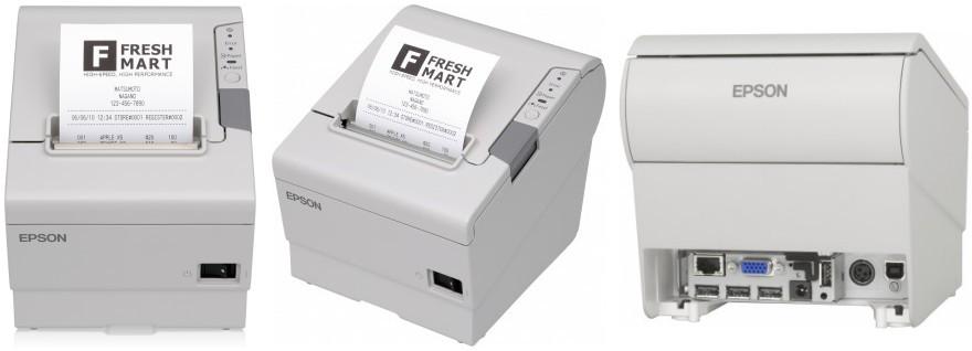 Чековый принтер Epson TM-T88V Ethernet