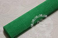 Креп бумага (гофрированная), ярко-зеленый №563, 50 х 250 см