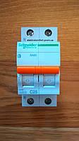 Автоматический выключатель1полюс+N 25А типа ВА63 серии «Домовой»