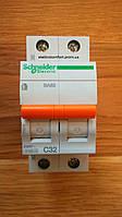 Автоматический выключатель1полюс+N 32А типа ВА63 серии «Домовой»