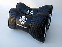 Подушка на подголовник Volkswagen черная