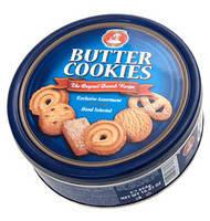 Печенье Butter Cookies (сдобное) в ж/б Австрия 454 г, фото 1