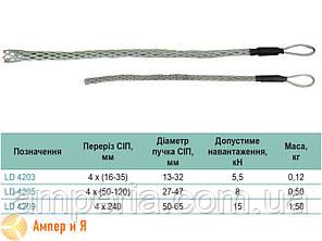 Кабельный чулок LD 4205 4x50-4x120/27-47мм SICAME , фото 2