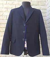 Школьный костюм тройка на мальчика темно-синий, фото 1