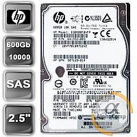 """Жесткий диск 2.5"""" 600Gb HP 10K EG0600FBVFP (SAS) БУ"""