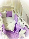 Постельный   комплект в детскую кроватку, фото 3