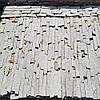 Плитка из сланца Серебро 0.5смx3см