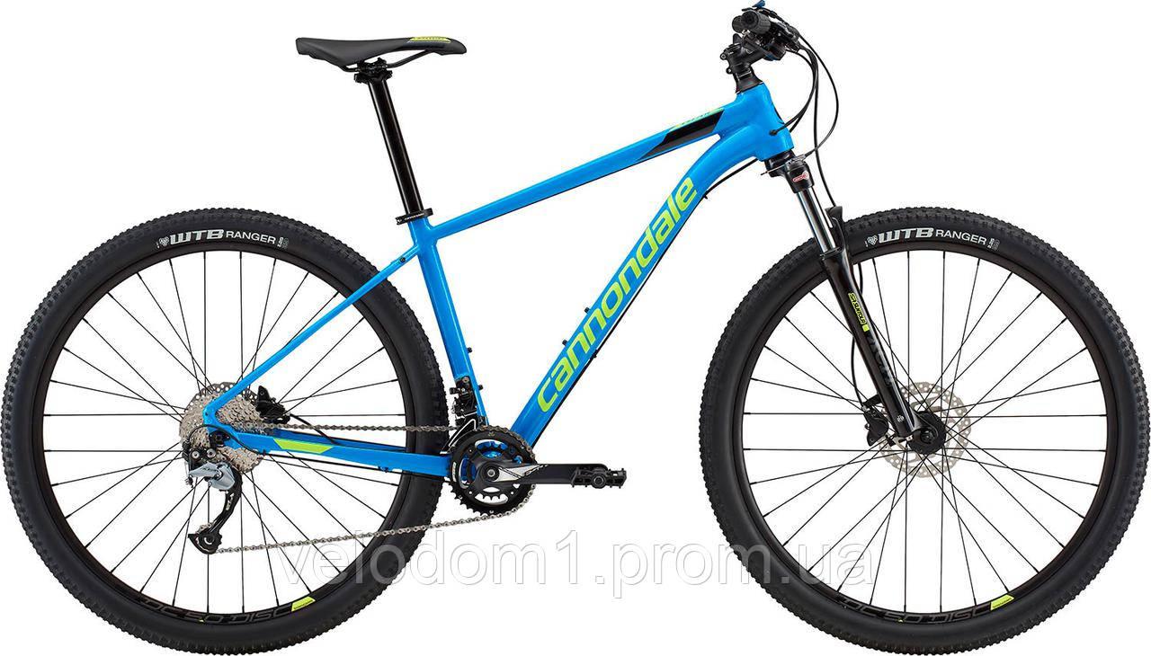 "Велосипед Cannondale 27,5"" Trail 6 blu 2018"