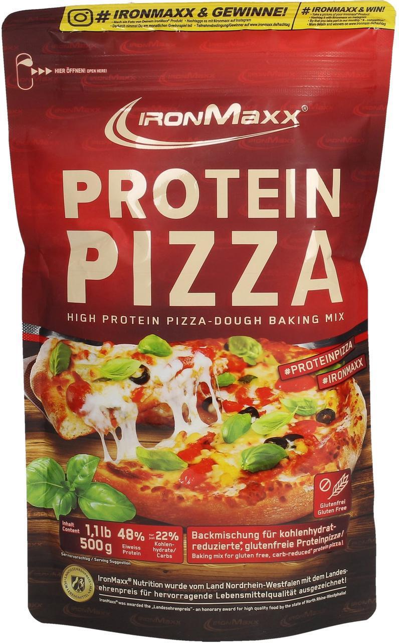 Заменитель питания IronMaxx Protein Pizza 500 g