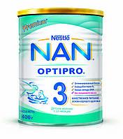 Смесь NAN 3 для детей от 12 месяцев, 400 г (7613032476175)