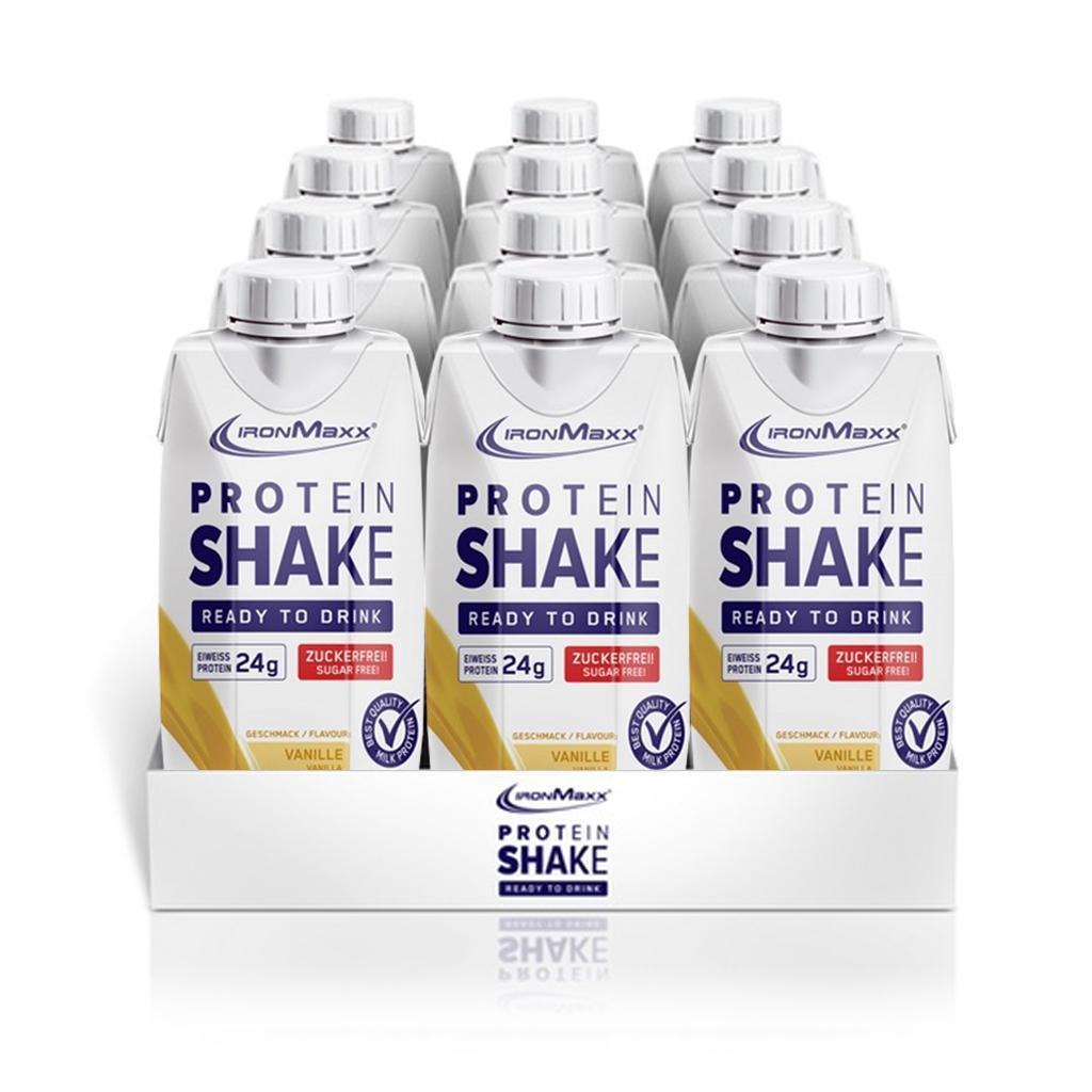 Заменитель питания IronMaxx Proteinshake - Ready To Drink 12х330 ml