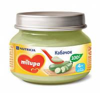 Овощное пюре Milupa Кабачок с 4 месяцев 80 г (5900852030222)
