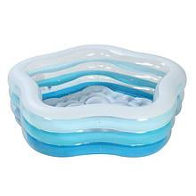 Детский надувной бассейн «Морская Звезда» Intex 56495 (183*180*53 см)