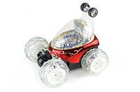 Машинка трюковая на радиоуправлении Limo Toy, цвет красный, радиус действия 20 м