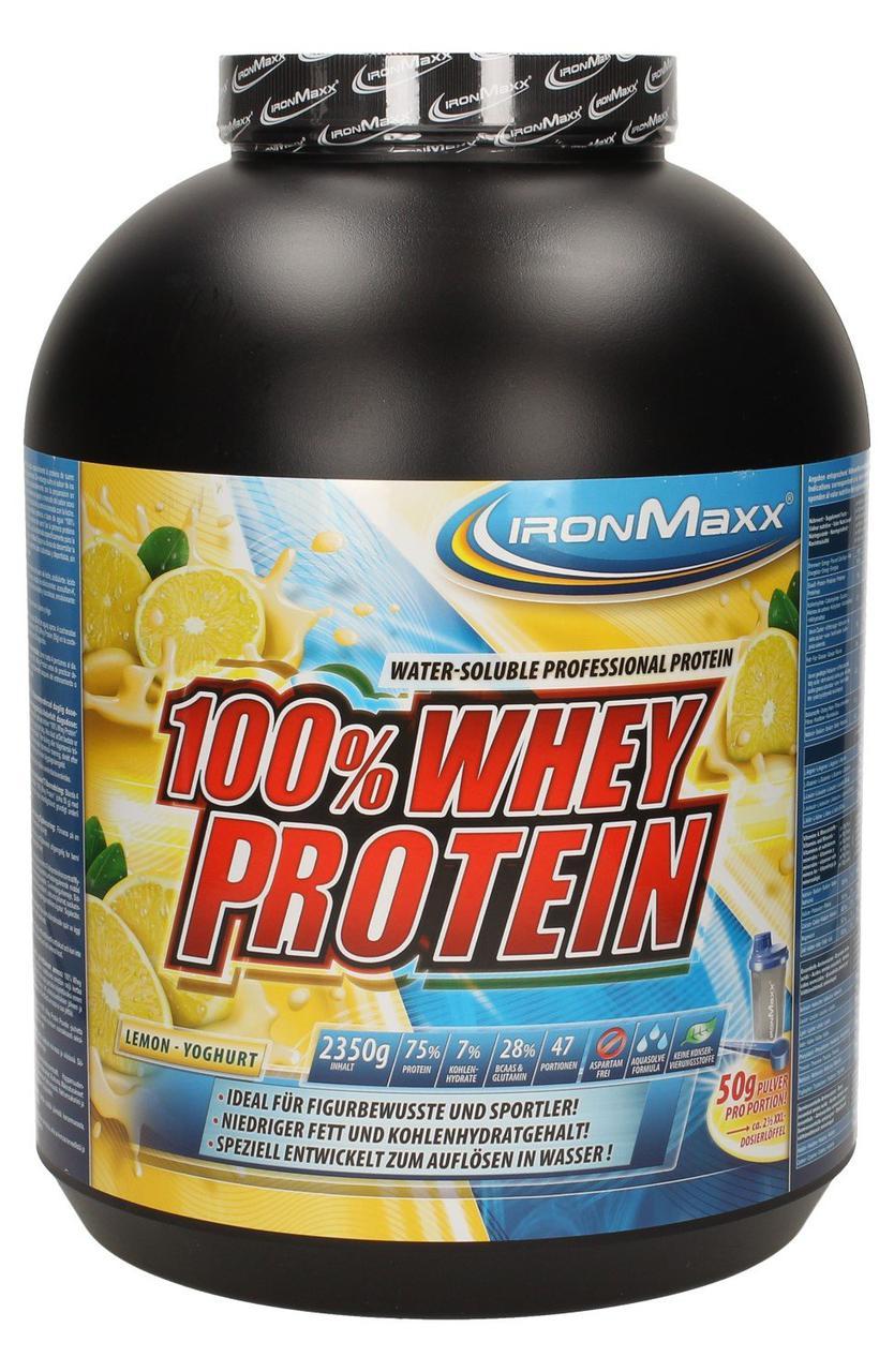 Протеїн IronMaxx 100% Whey Protein 2350 g