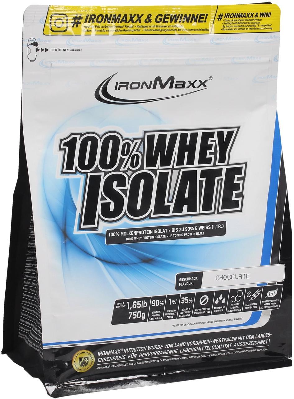 Протеїн IronMaxx 100% Whey Isolate 750 g