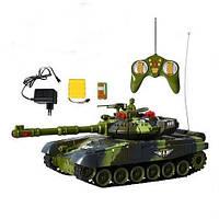 Танк на пульте управления tongde 936495 r/9993 с лазерным прицелом kk