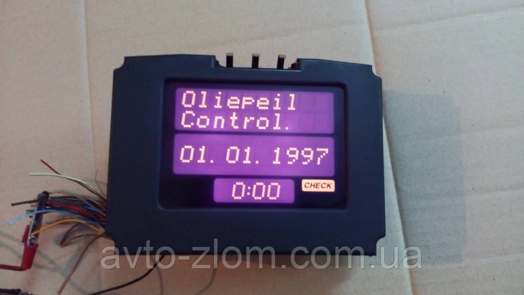 Дисплей бортового компютера Opel Vectra B, Опель Вектра Б. 90569346, 5WK7466.
