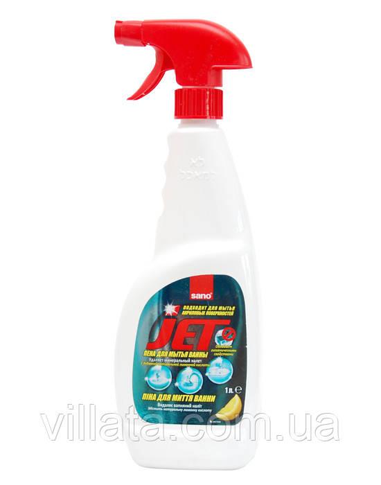 Средство для акриловых поверхностей в ванной комнате Sano Jet 1l