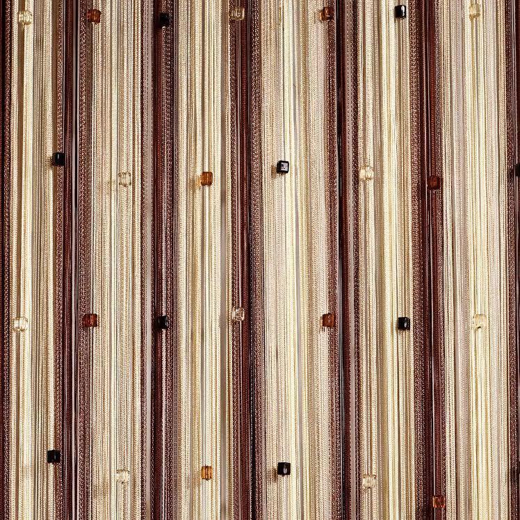 Шторы нити Радуга со стеклярусом №8+13+14