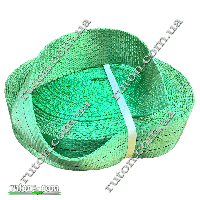Лента текстильная для строп 13 т - 90 мм - 25 м (зеленая)