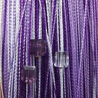 Шторы нити Радуга со стеклярусом №1+12+205