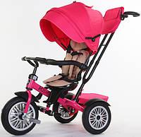 Детский трехколесный велосипед Speed Rider розовый 2018