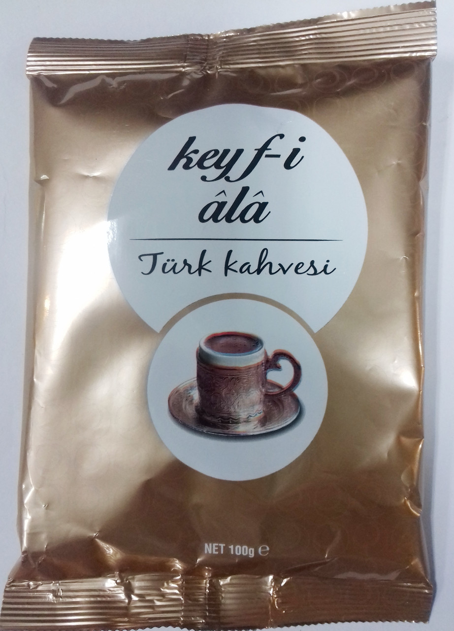 Кофе молотый Турецкий Keifi Ala 100 г