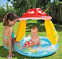 Надувной детский бассейн интекс 57114 intex грибочек ri kk