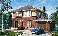 Проект двухэтажного дома МХ3