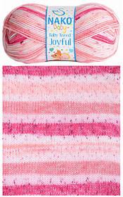 Пряжа для ручного вязания NAKO Baby Tweed Joyful