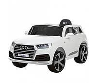 Детский электромобиль джип jj 2188 eblr-1 audi q7, белый bi