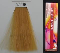 Велла Колор Тач 9/3 Wella Color Touch Яркий Яркий блондин золотистый
