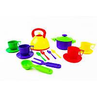 Посуда  игрушечная 16 приборов  ЮНИКА
