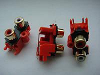 Разьем AKB7164  RCA GOLD (тюльпаны) для Pioneer, фото 1