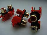 Разьем AKB7164  RCA GOLD (тюльпаны) для Pioneer, фото 6