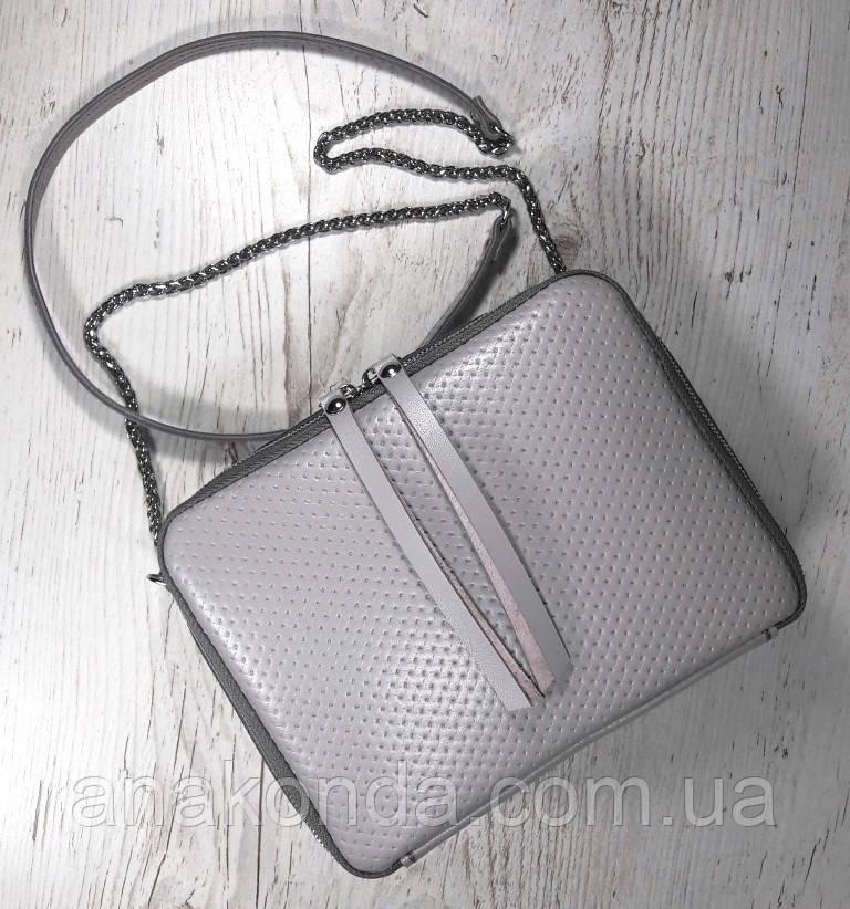 63-3 Сумка женская кросс-боди из натуральной кожи, пастельно-сиреневая сумка кожаная сумка светлая лиловая