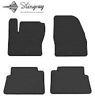 Ford Kuga 2009- Комплект из 4-х ковриков Черный в салон