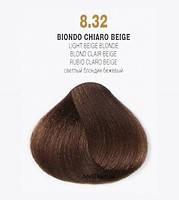 Краска для волос 8.32 Brelil Colorianne Classic светлый бежевый блонд 100 мл