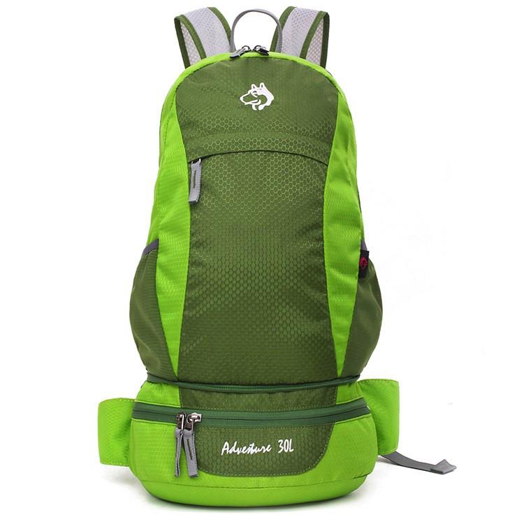 Cкладной рюкзак Jungle King 30L розовый