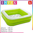 Детский надувной бассейн Intex 57100 (85*85*23 см), фото 3